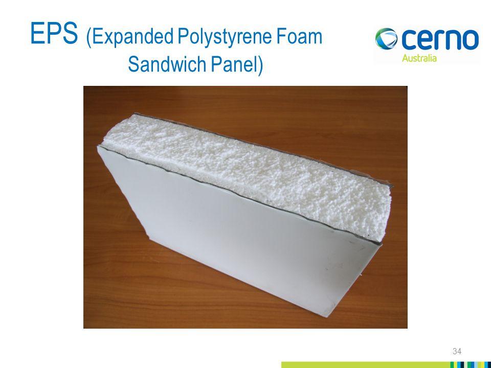 EPS (Expanded Polystyrene Foam Sandwich Panel) 34