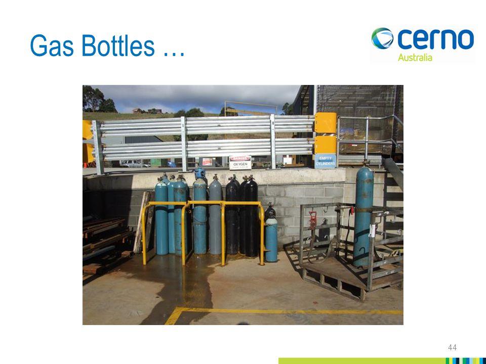 Gas Bottles … 44