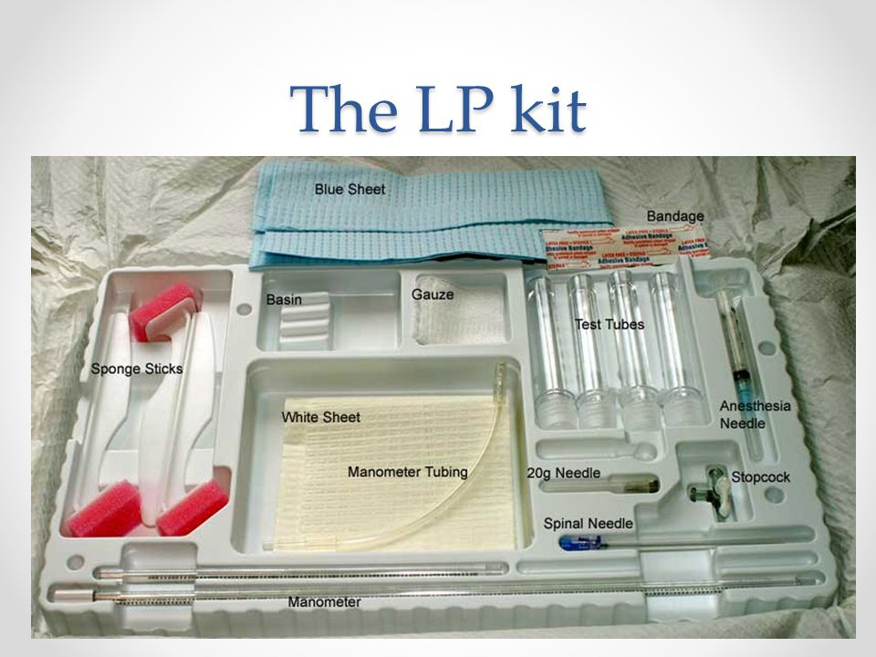 The LP kit