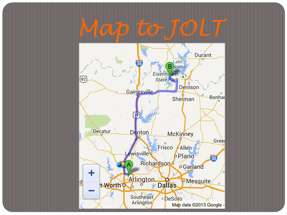 Map to JOLT