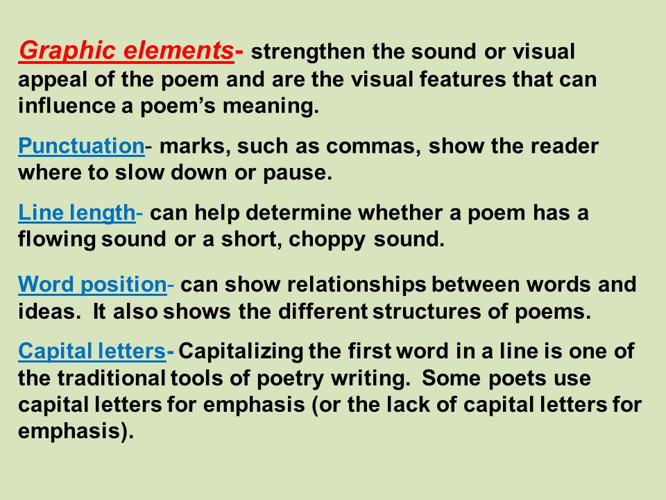 Identifying the Words Poetry Assignment #2 On your paper, find the metaphor and write it down, and write the words being compared on your paper.