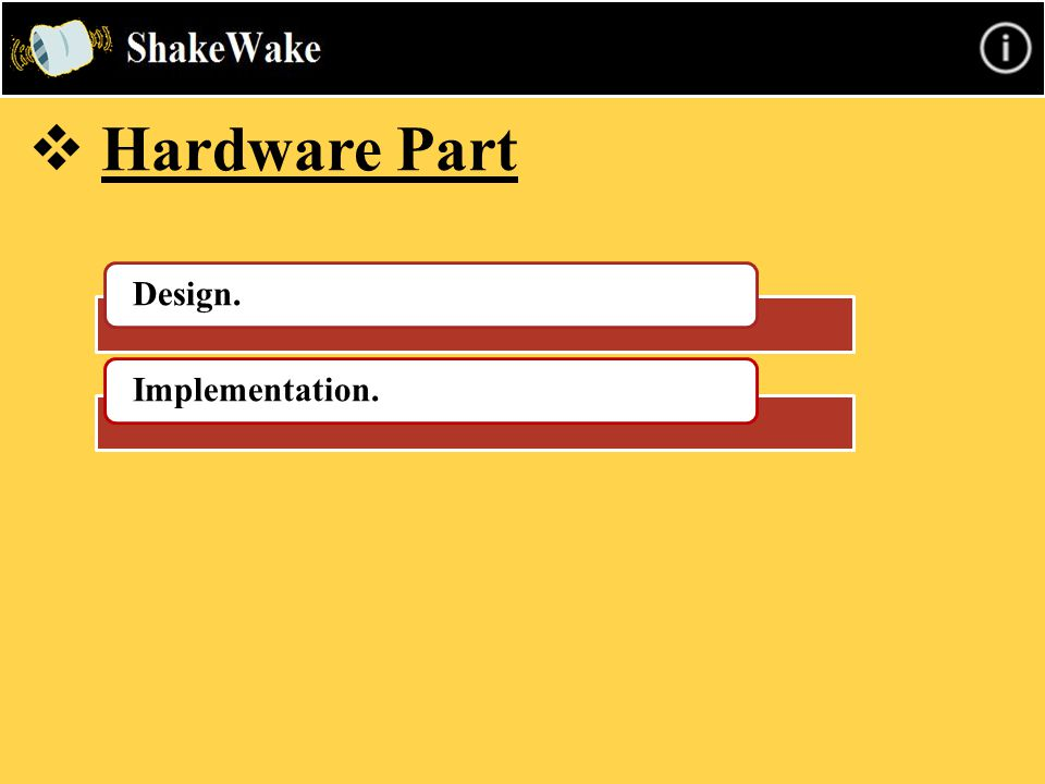  Hardware Part Design.Implementation.