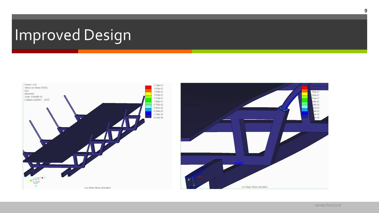 Improved Design James McCord 9