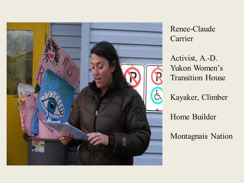 Renee-Claude Carrier Activist, A.-D.