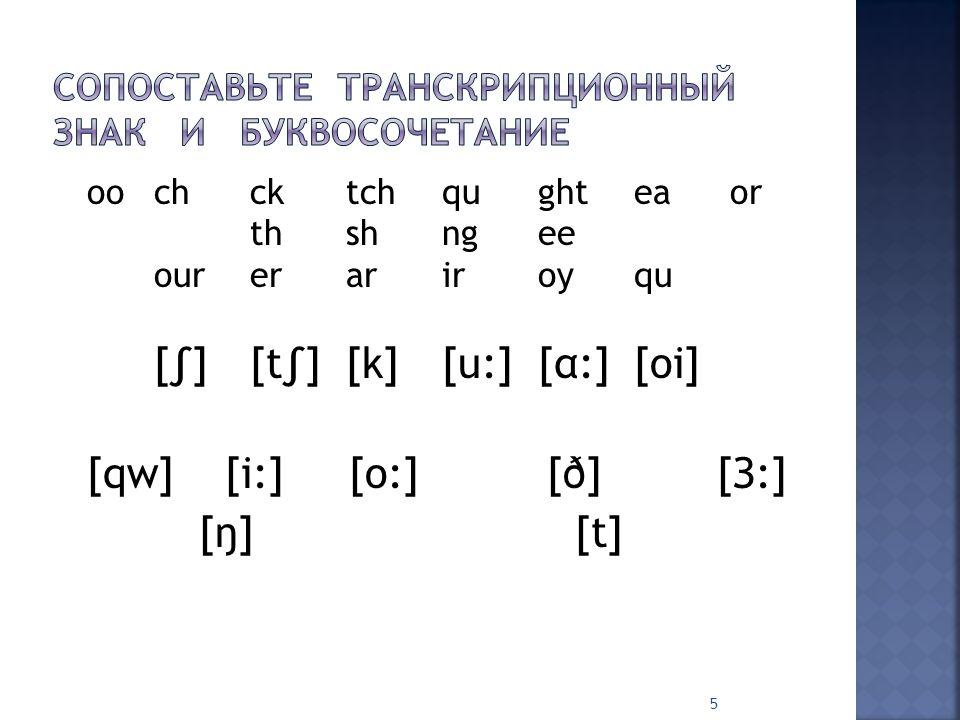  [i:]-feet,Pete,test,see,seen,team  [ei]-name,game,make,map,brave  [ai]-drive,ripe,child,kind,print,like  [λ]-bus,hut,nut,huge,mug  [U:]-look,good,book,spoon,too,room  [ǽ]-man,fat,hand,flat,table,bag  [e]-pen,ten,net,pet,Pete,tent 6