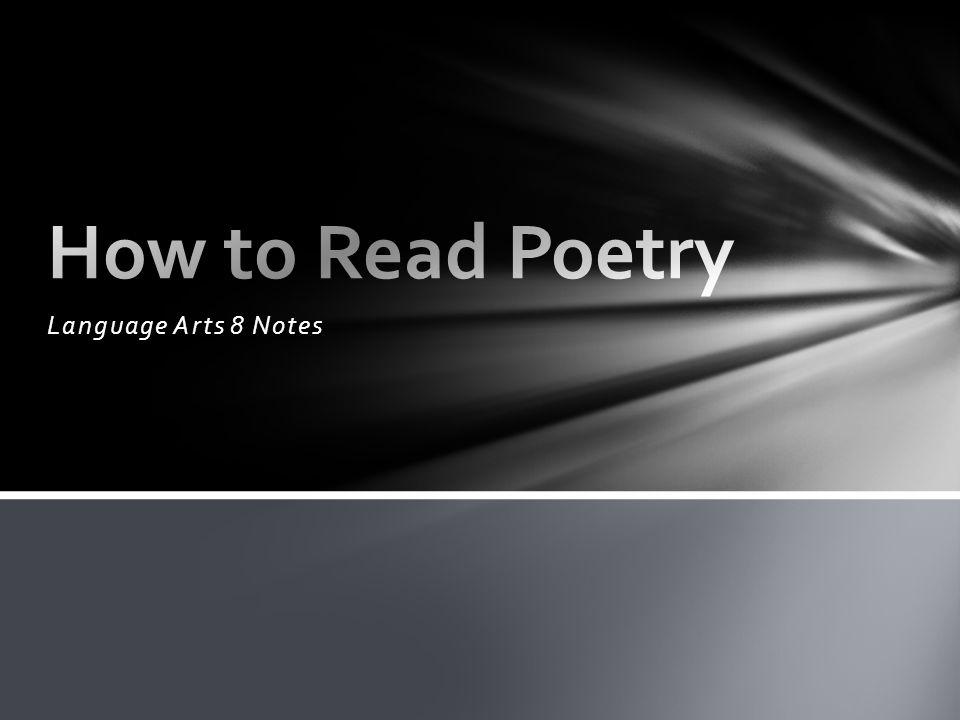 Language Arts 8 Notes