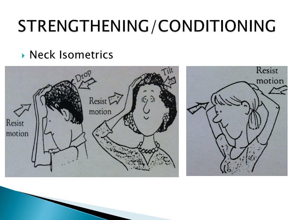  Neck Isometrics