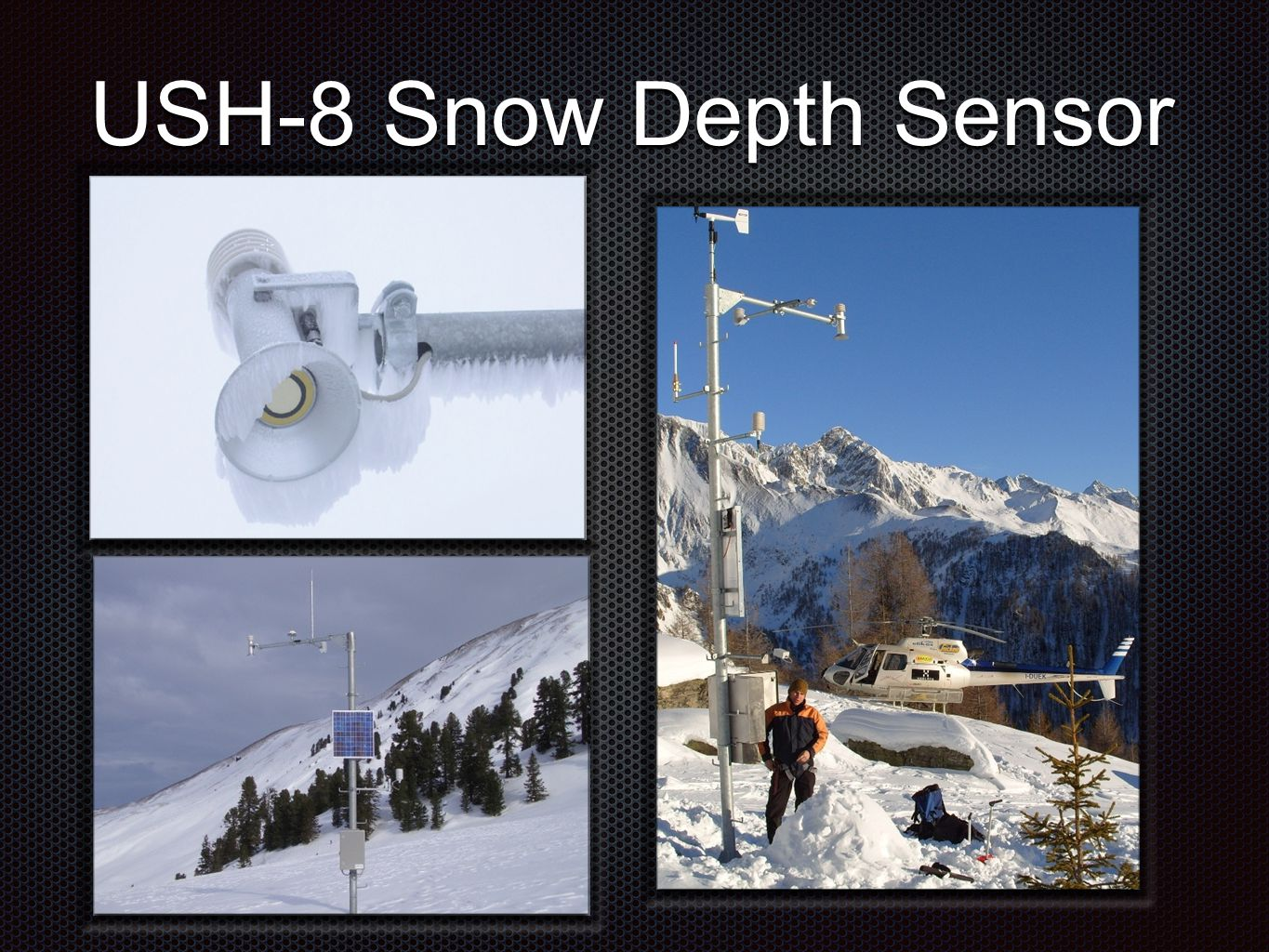 SNOW SCALE SSG SWE (Snow Water Equivalent) Sensor