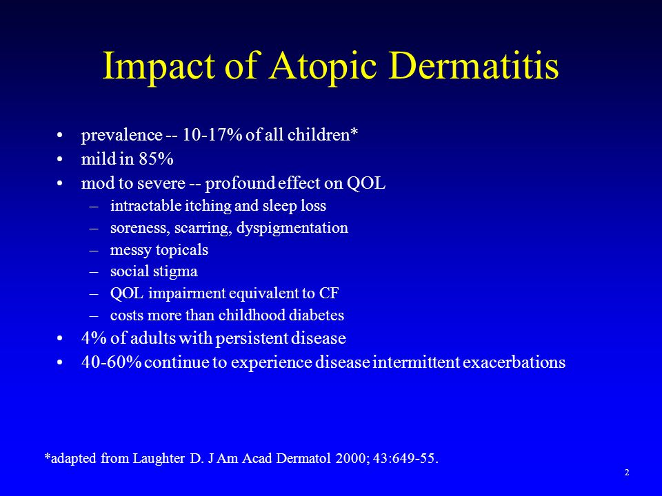 to Atopic Dermatitis Clinical Approach to Atopic Dermatitis Campfire Analogy v v 4343