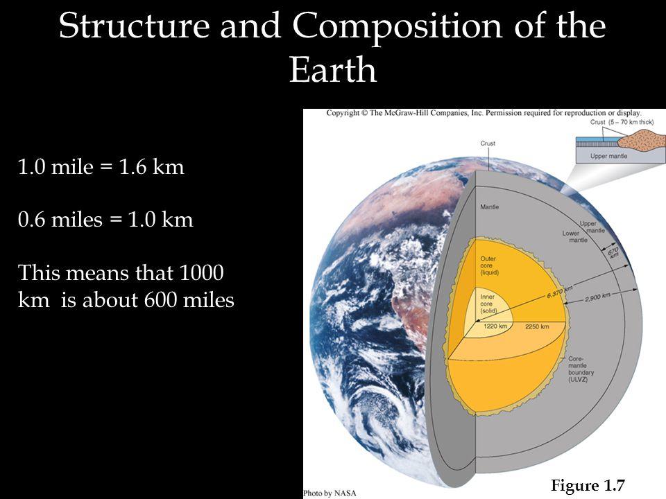 a.Continental Crust - Sedimentary rocks atop metamorphic and plutonic rocks 1. The Crust