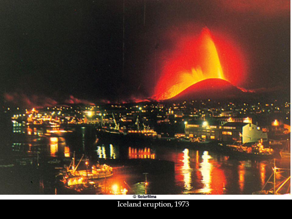 Iceland eruption, 1973