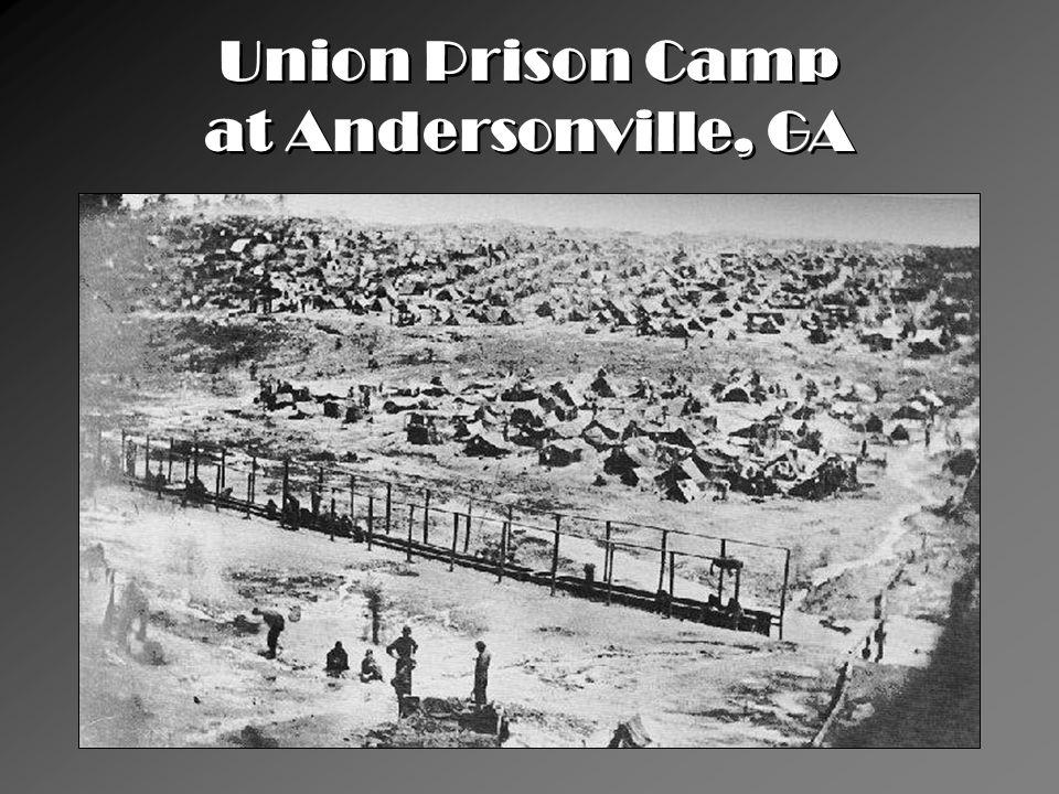 Union Prison Camp at Andersonville, GA