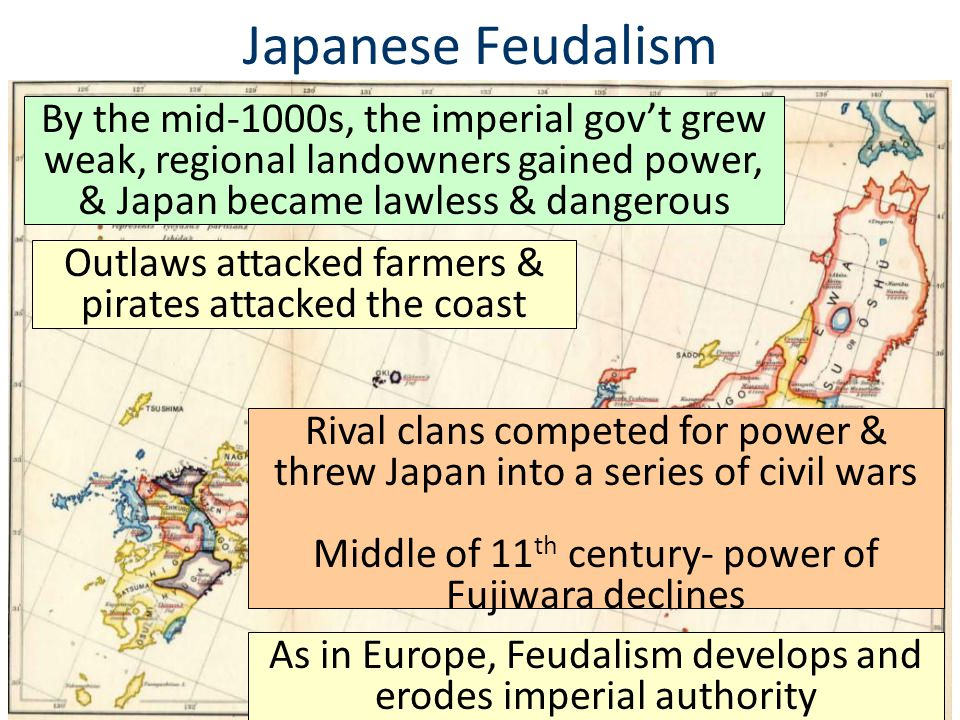 Tokugawa Shogunate For more than 250 years, Tokugawa's successors ruled Japan as shoguns During this time, Japan benefited from peace; The economy boomed & became more commercial
