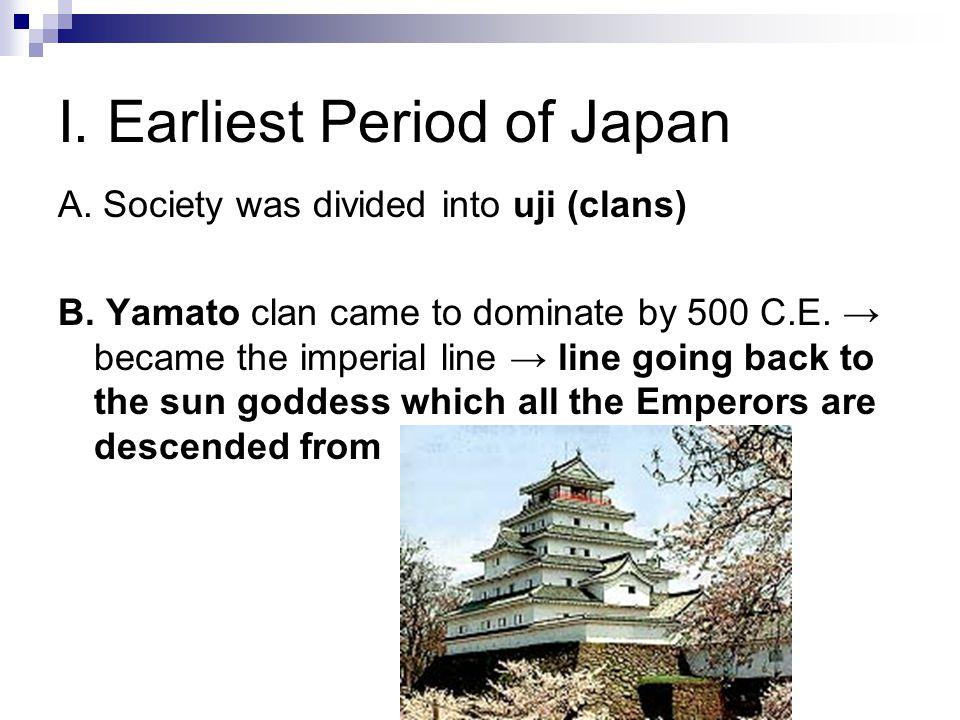 II.Classical Period (500's-1100's) A.