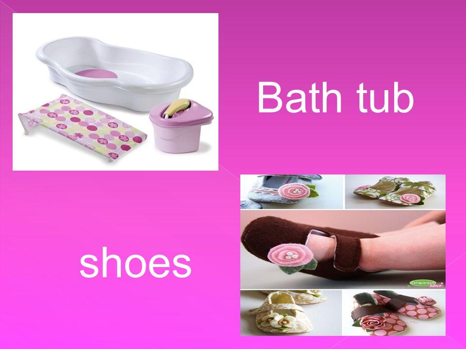 Bath tub shoes