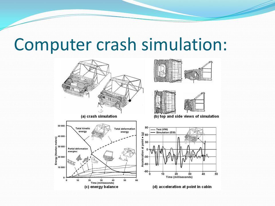 Computer crash simulation: