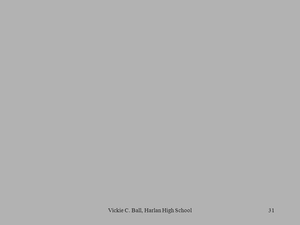 31Vickie C. Ball, Harlan High School