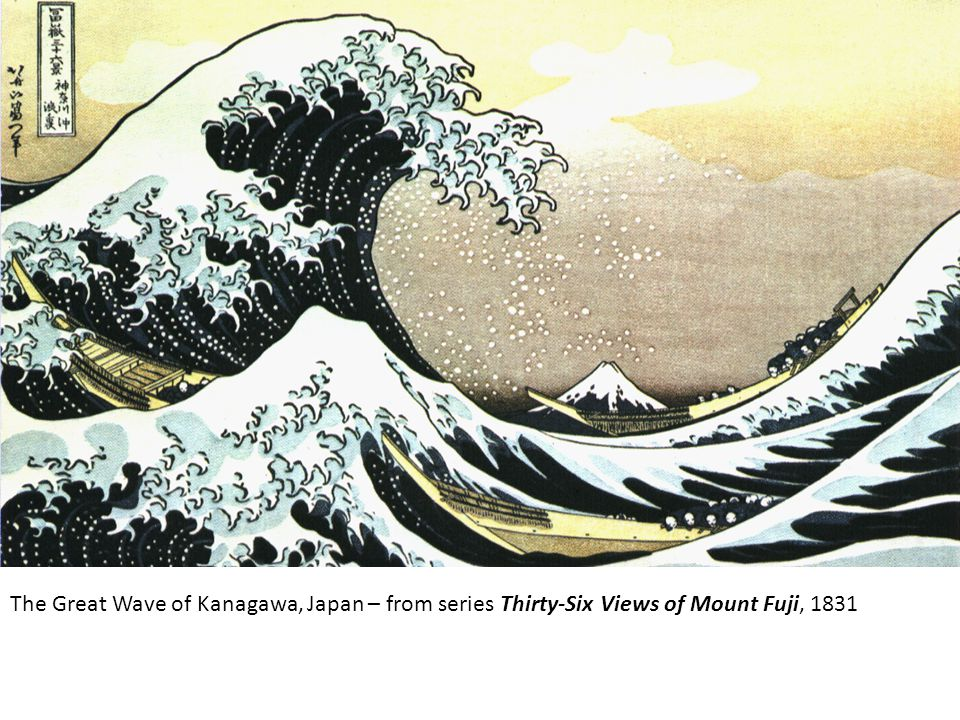 The Great Wave of Kanagawa, Japan – from series Thirty-Six Views of Mount Fuji, 1831