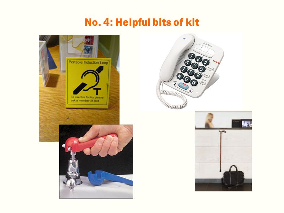 No. 4: Helpful bits of kit