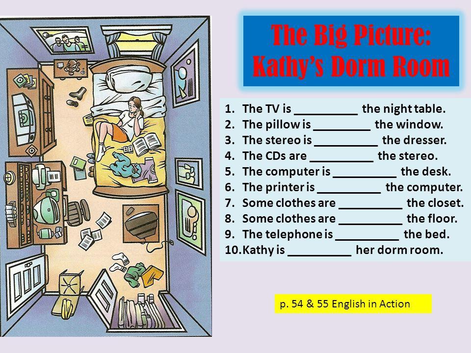 The Big Picture: Kathy's Dorm Room p.