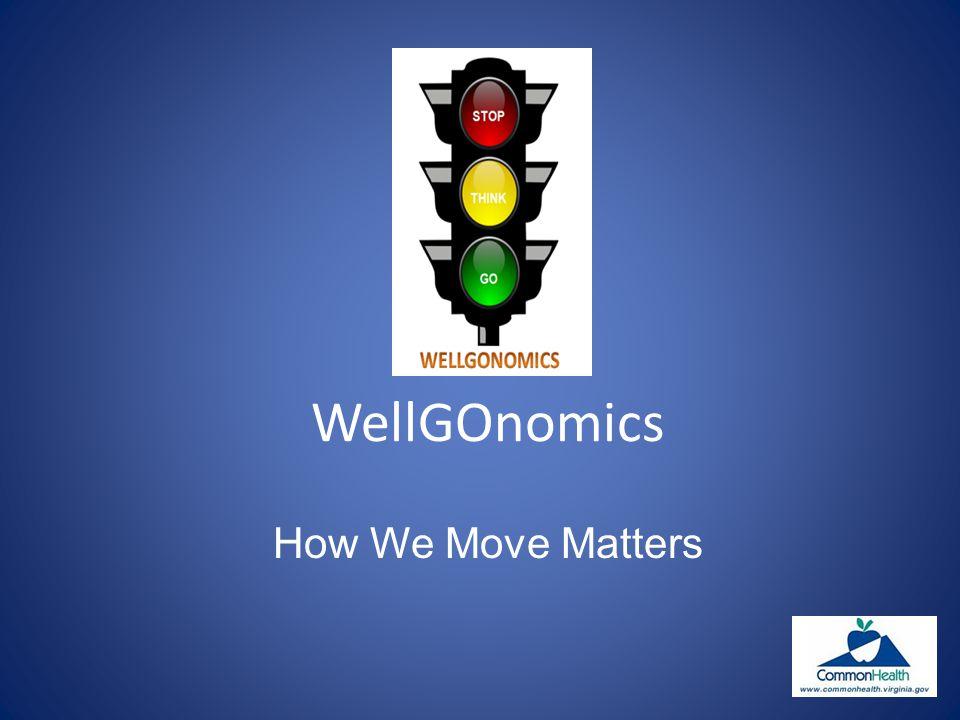 WellGOnomics How We Move Matters
