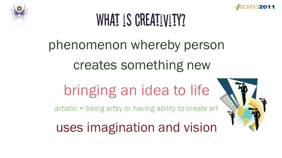 You are Creative old paradigm ~ creative potential new paradigm ~ creative performance low creativity vs high creativity ~ jobs, people, moments