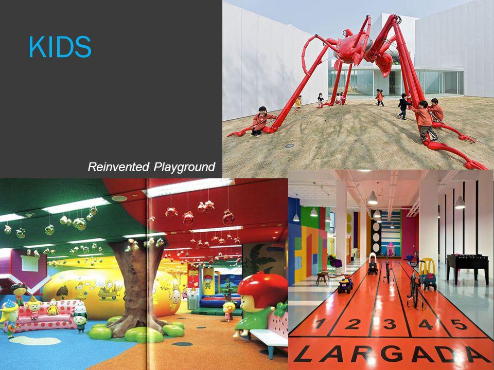KIDS Reinvented Playground