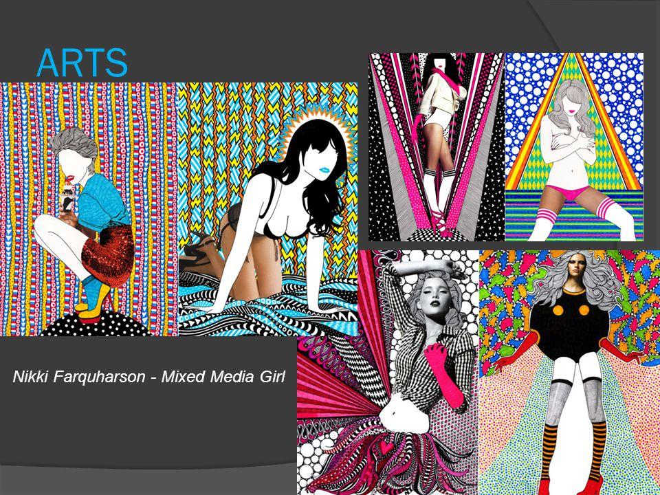ARTS Nikki Farquharson - Mixed Media Girl
