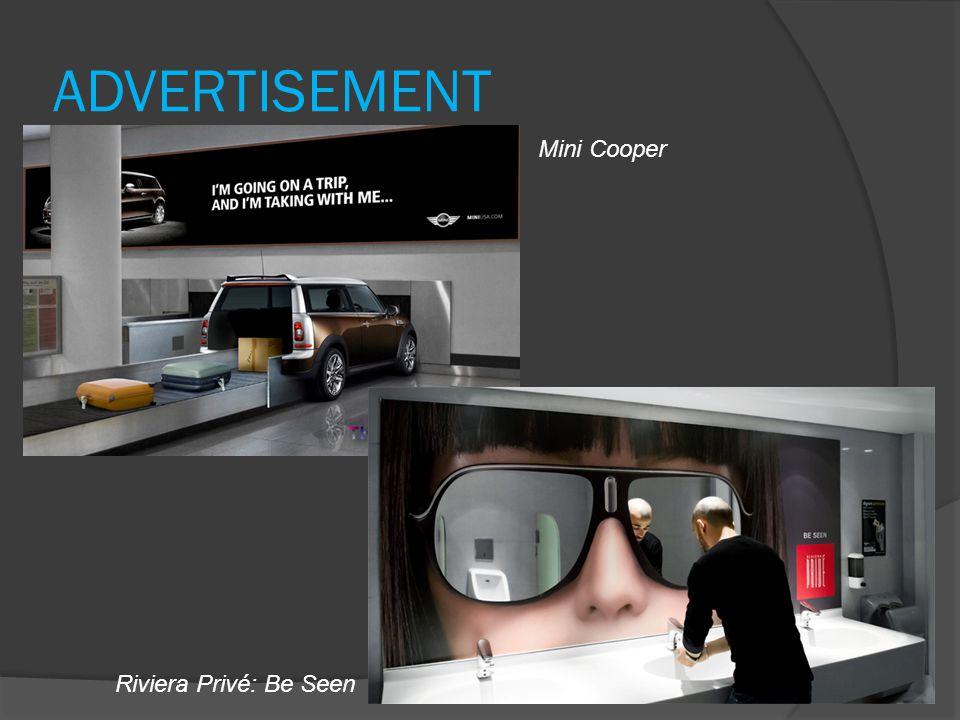 ADVERTISEMENT Riviera Privé: Be Seen Mini Cooper