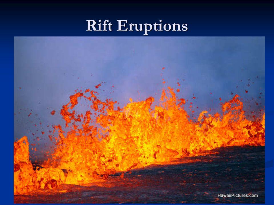 Rift Eruptions