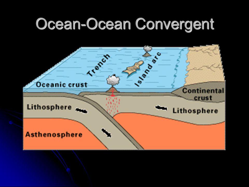Ocean-Ocean Convergent