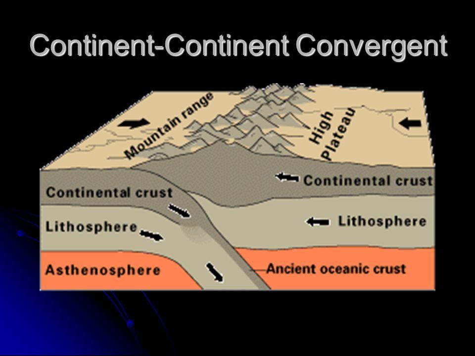 Continent-Continent Convergent