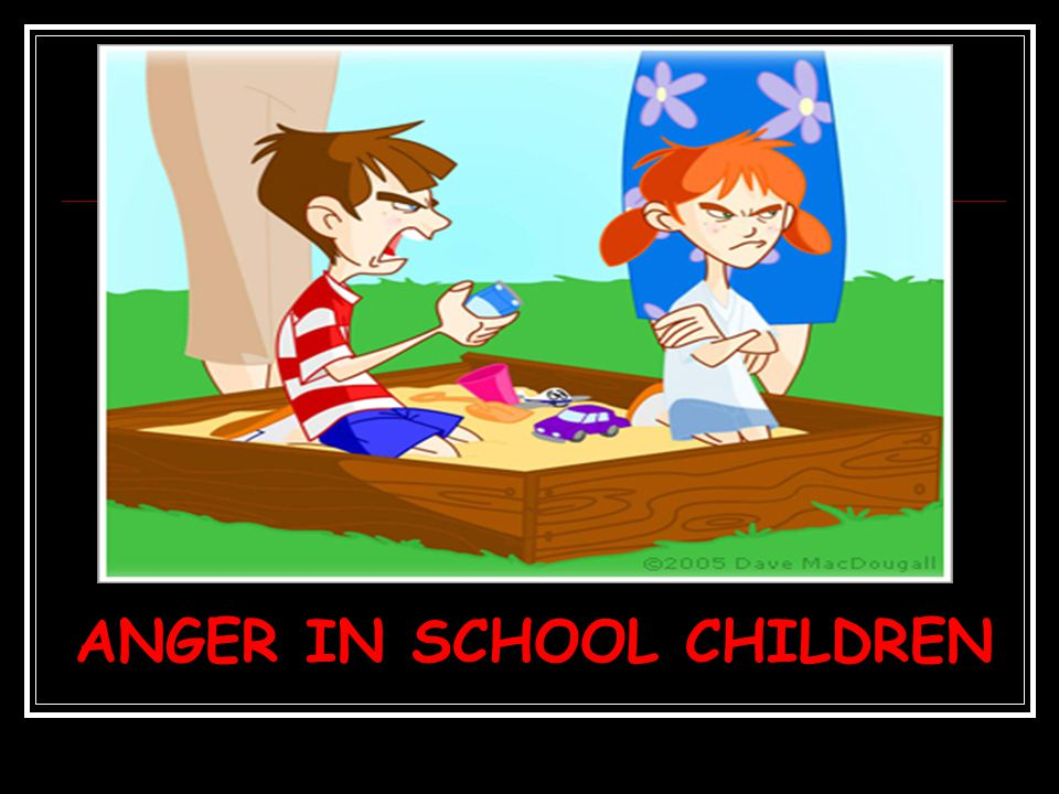 ANGER IN SCHOOL CHILDREN