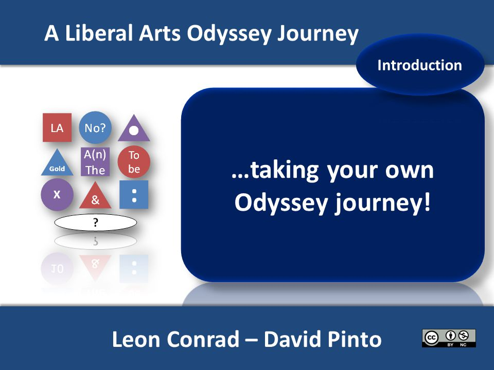 A Liberal Arts Odyssey Journey X Leon Conrad – David Pinto
