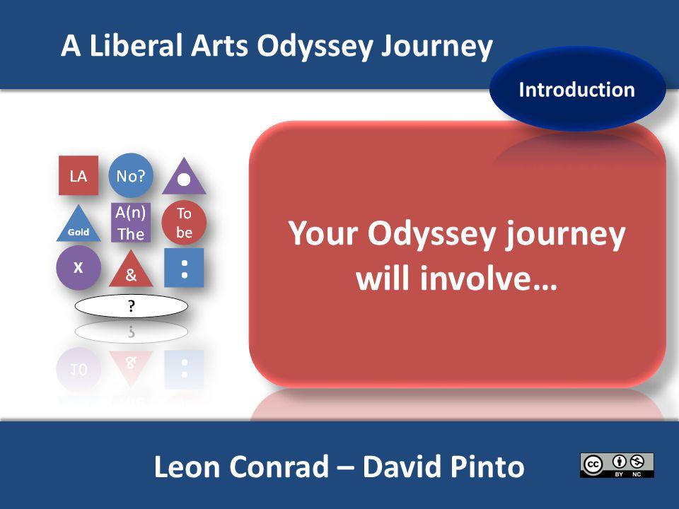 A Liberal Arts Odyssey Journey www.traditionaltutor.co.uk X