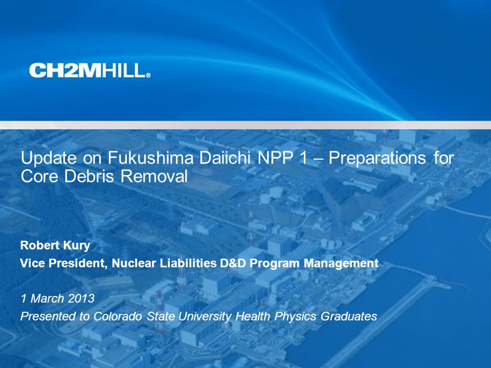 Copyright by CH2M HILL Company Confidential Summary of Pathways Evaluated Dose Rates in mSv/hr 12