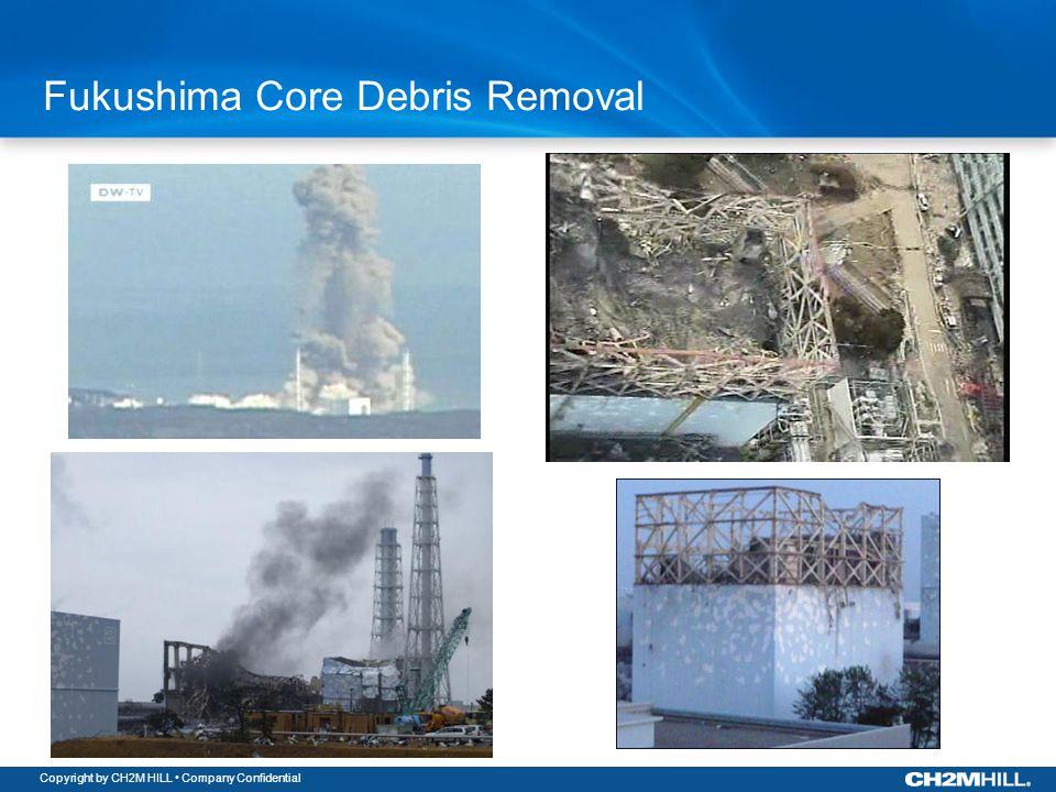 Copyright by CH2M HILL Company Confidential Fukushima Core Debris Removal BWR Mark I Containment