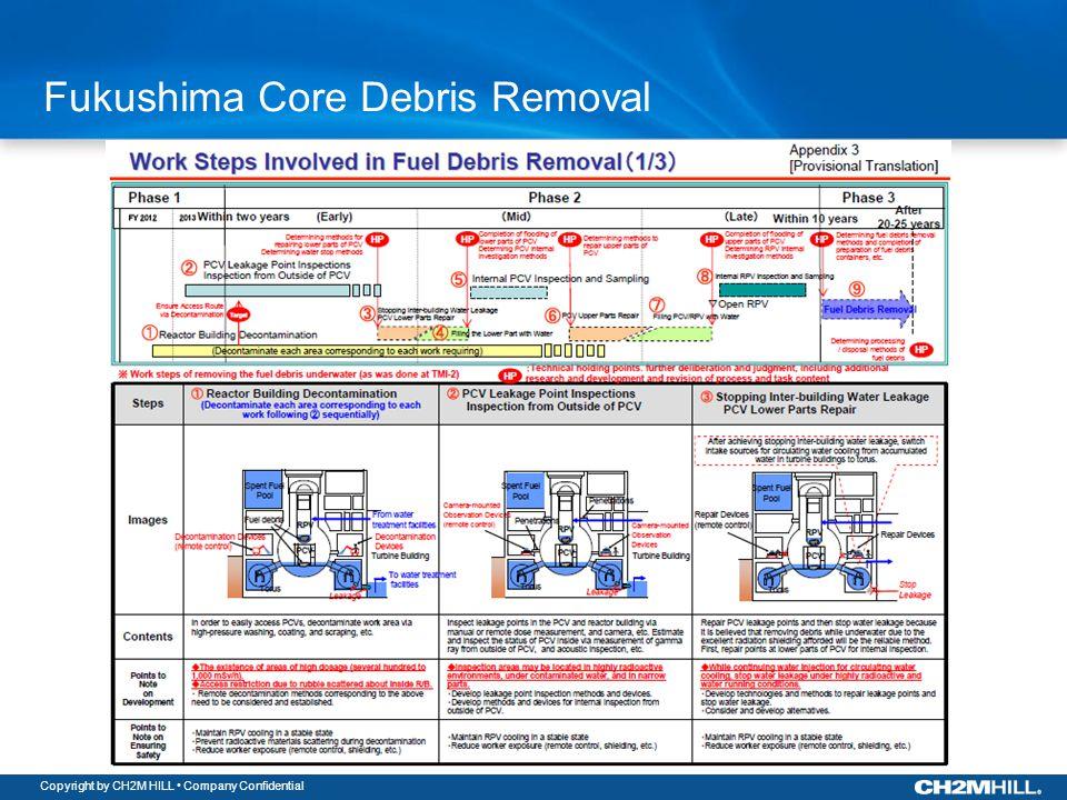 Copyright by CH2M HILL Company Confidential Fukushima Core Debris Removal