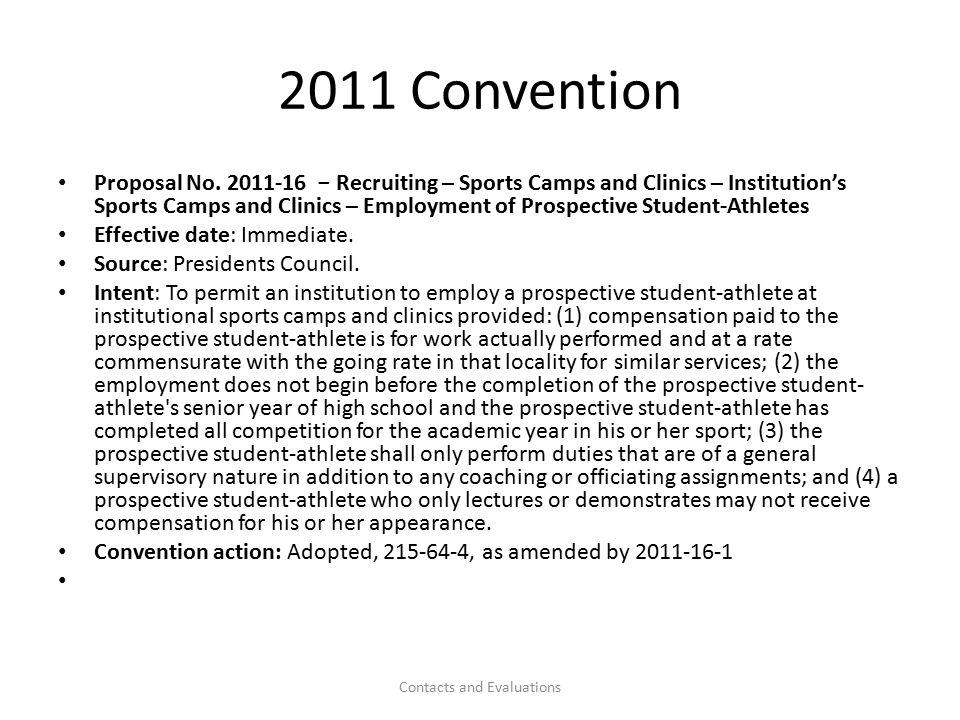 2011 Convention Proposal No.