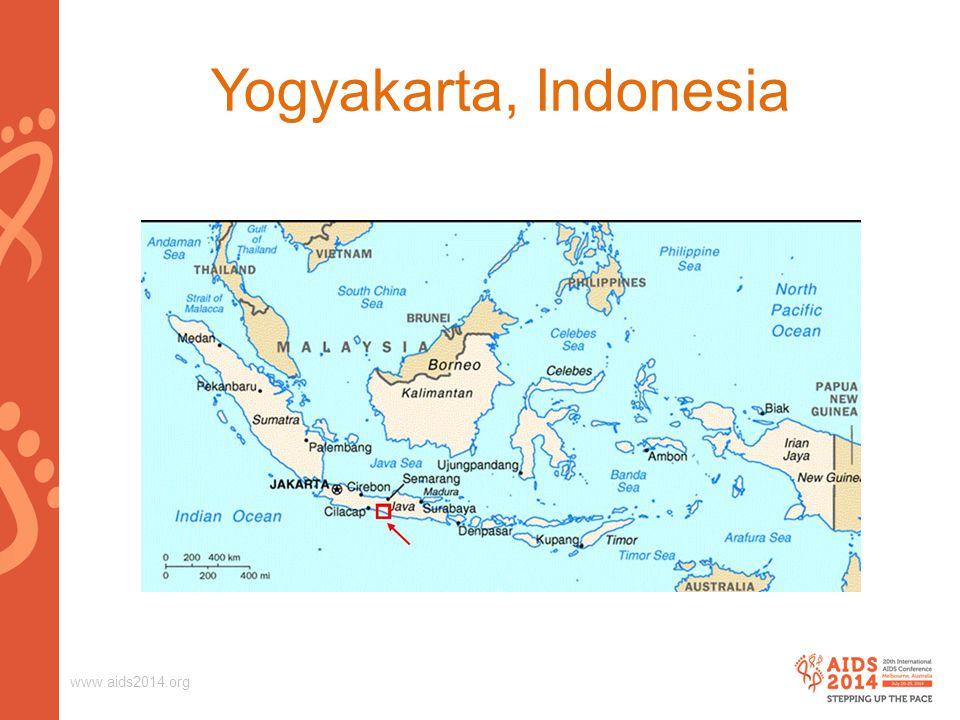 www.aids2014.org Yogyakarta, Indonesia
