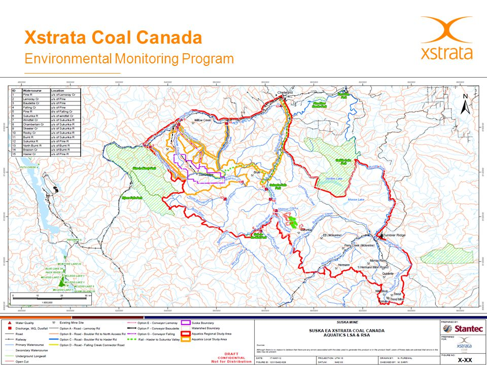 Xstrata Coal Canada Environmental Monitoring Program