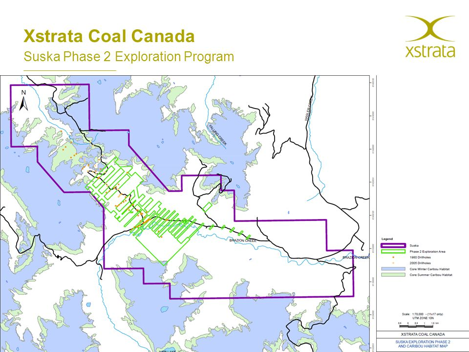 Xstrata Coal Canada Suska Phase 2 Exploration Program