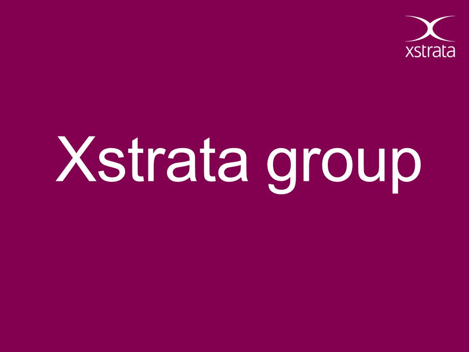 Xstrata group