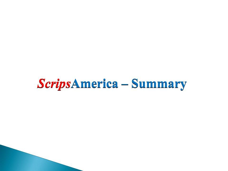 ScripsAmerica – Summary