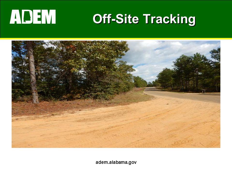 Off-Site Tracking adem.alabama.gov