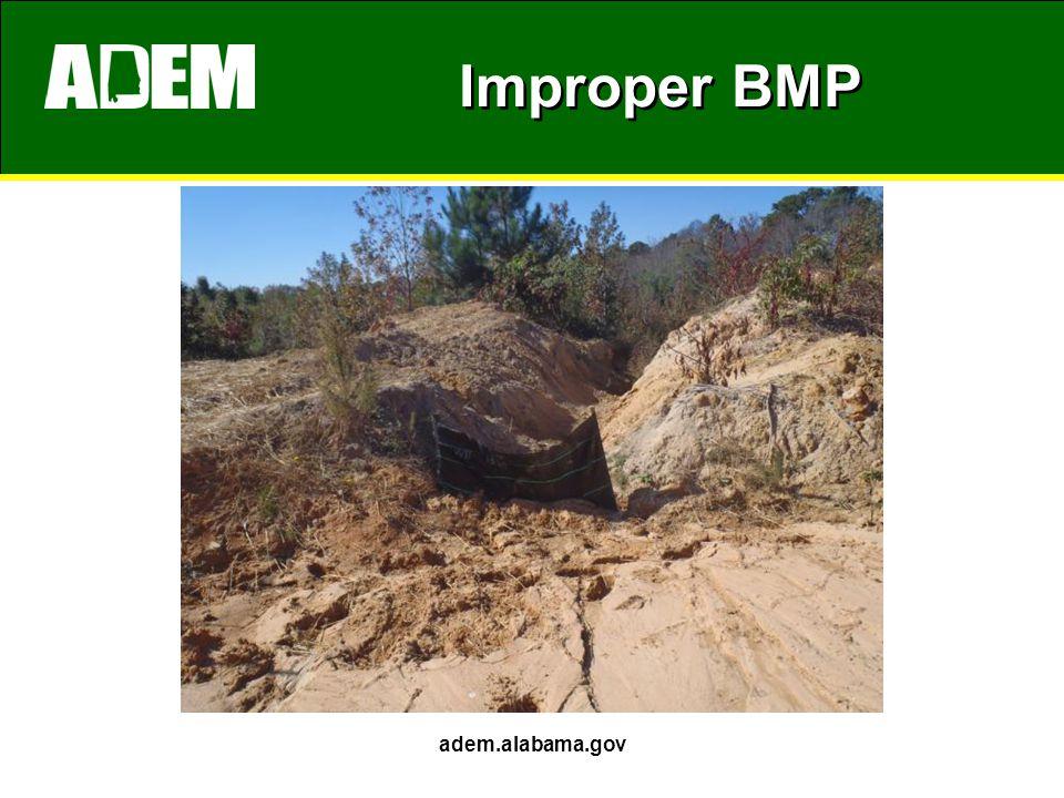 Improper BMP adem.alabama.gov