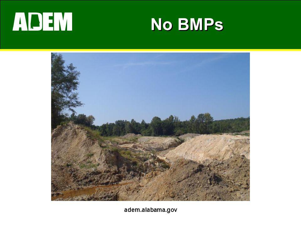 No BMPs adem.alabama.gov