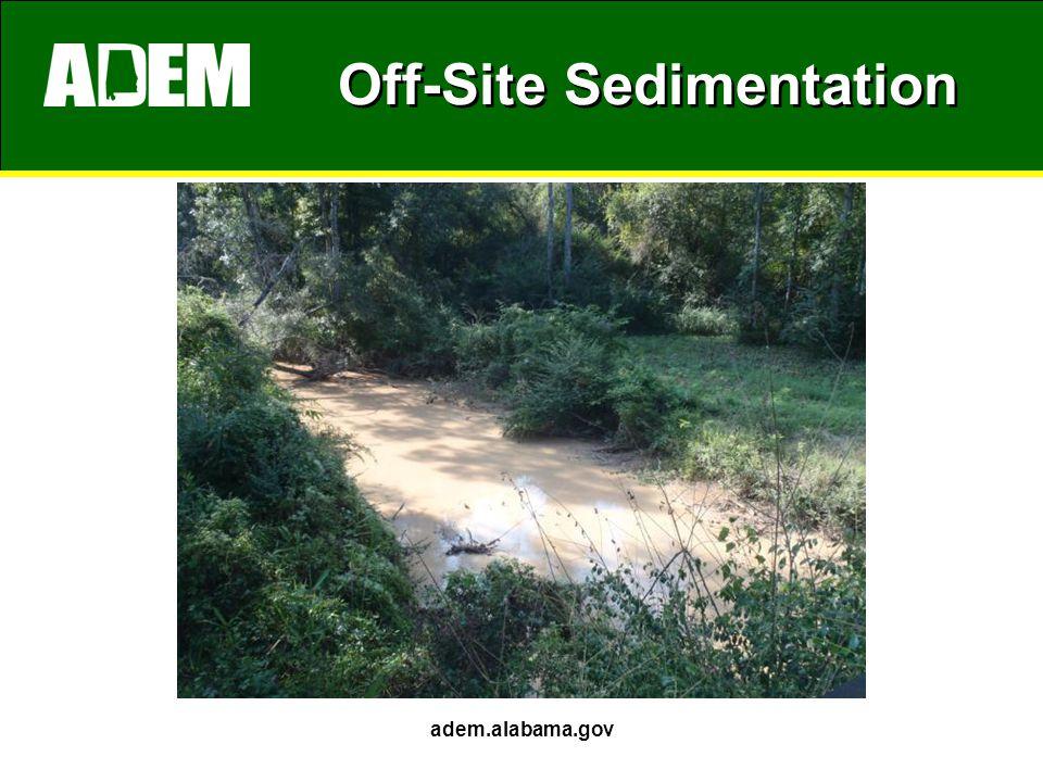 Off-Site Sedimentation adem.alabama.gov