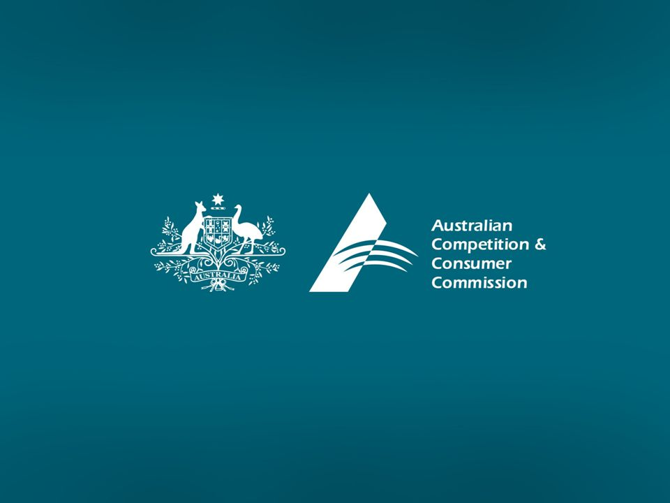 Dawn Raids by the ACCC Wendy Peter General Counsel Australian Competition & Consumer Commission