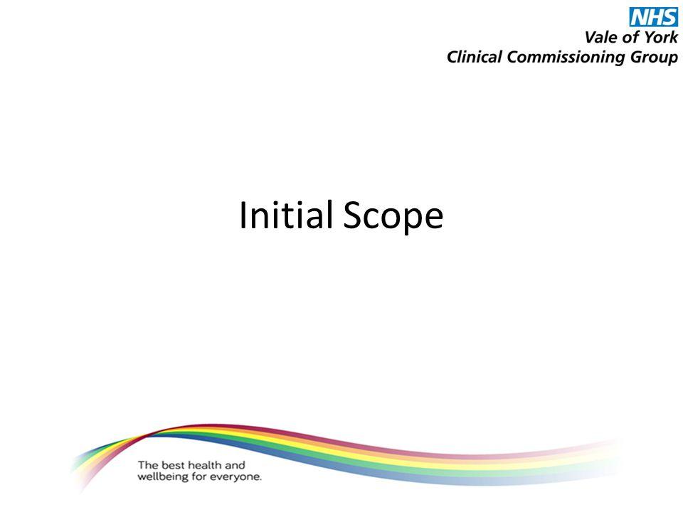 Initial Scope